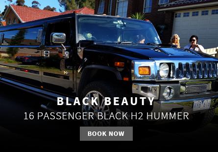 black hummer limo