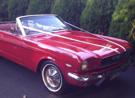 classic car hire Melbourne